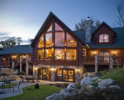 Проекты больших деревянных домов: 11x12, 10x11, 11x13