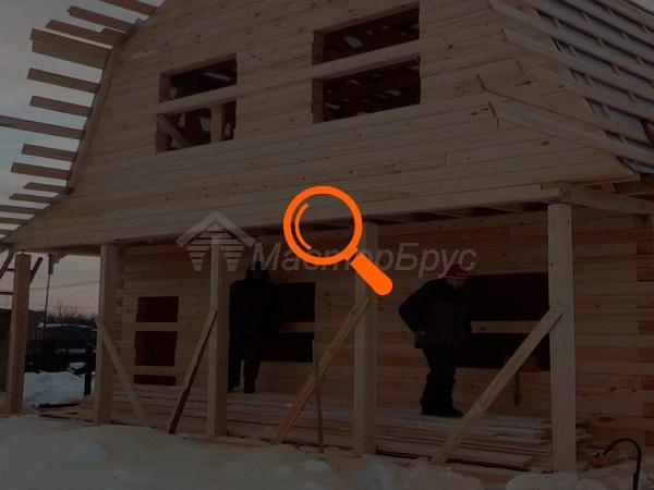 Строительство дома по проекту №2