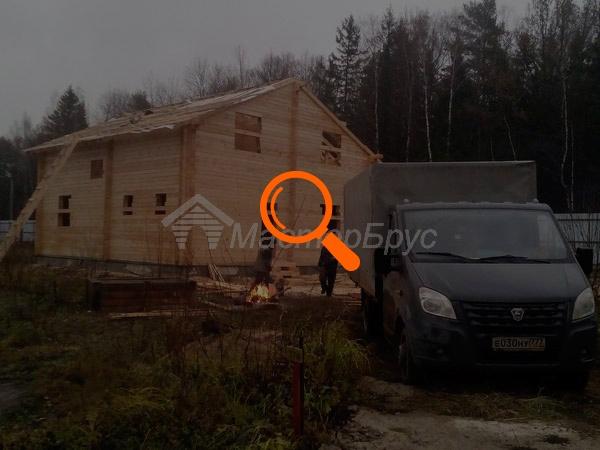 Строительство дома из бруса по проекту №16