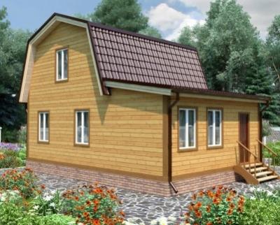 Дома из бруса 6x9: оптимальный