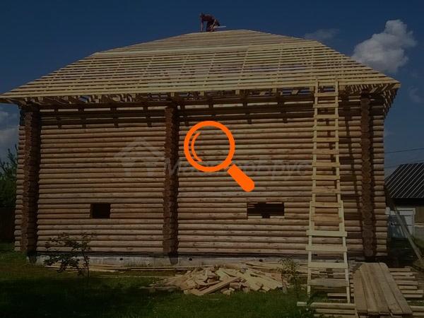 Рубленный дом 10х10, МО г. Чехов