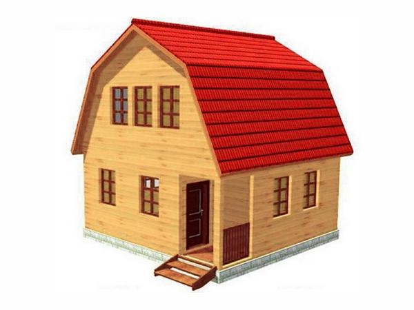 Дачный дом из бруса - 11 (6x6)