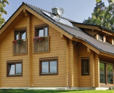 Дома из бруса для регулярного проживания