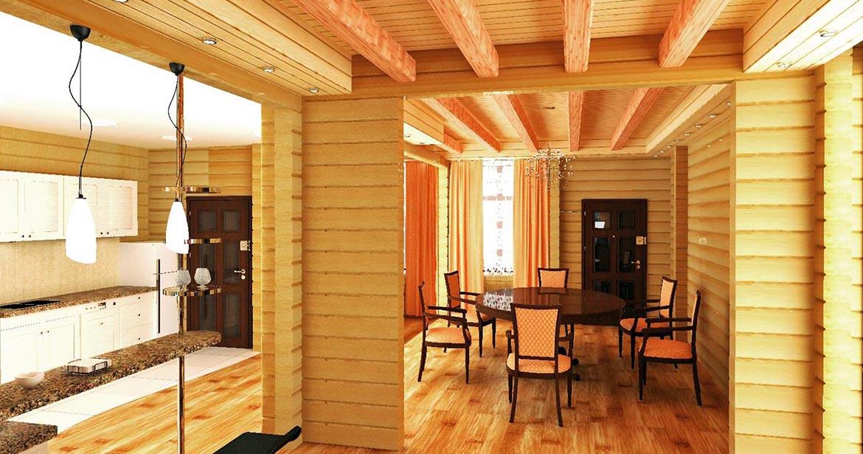 Строительство домов из проф. бруса